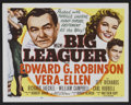"Movie Posters:Sports, Big Leaguer (MGM, 1953). Lobby Card Set of 8 (11"" X 14""). Sports.. ... (Total: 8 Items)"