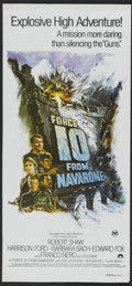 "Movie Posters:War, Force 10 from Navarone (Columbia, 1978). Australian Daybill (13.5""X 30""). War.. ..."