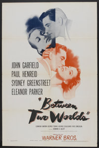 """Between Two Worlds (Warner Brothers, 1944). One Sheet (27"""" X 41""""). Mystery"""