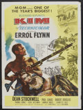 "Movie Posters:Adventure, Kim (MGM, 1950). One Sheet (27"" X 41""). Adventure.. ..."