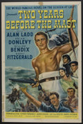"Movie Posters:Adventure, Two Years Before the Mast (Paramount, 1946). One Sheet (27"" X 41"").Adventure.. ..."