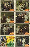 "Movie Posters:Mystery, Charlie Chan in the Secret Service (Monogram, 1944). Lobby Card Setof 8 (11"" X 14"").. ... (Total: 8 Items)"