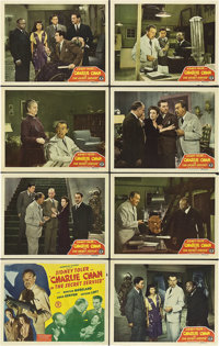 """Charlie Chan in the Secret Service (Monogram, 1944). Lobby Card Set of 8 (11"""" X 14""""). ... (Total: 8 Items)"""