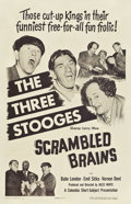 "Movie Posters:Comedy, Scrambled Brains (Columbia, 1951). One Sheet (27"" X 41"").. ..."
