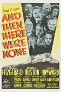 """Movie Posters:Mystery, And Then There Were None (20th Century Fox, 1945). One Sheet (27"""" X41"""").. ..."""