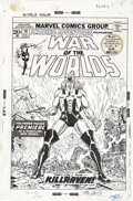 Original Comic Art:Covers, John Romita Sr. Amazing Adventures #18 First War of theWorlds/Killraven Cover Original Art (Marvel, 1973)....