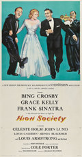 "Movie Posters:Musical, High Society (MGM, 1956). Three Sheet (41"" X 81"").. ..."