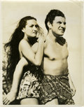"Movie Posters:Adventure, Dorothy Lamour and Robert Preston in ""Typhoon"" (Paramount, 1940).Publicity Still (10"" X 13"").. ..."