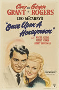 """Movie Posters:Comedy, Once Upon a Honeymoon (RKO, 1942). One Sheet (27"""" X 41"""") Style A....."""