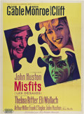 "Movie Posters:Drama, The Misfits (United Artists, 1961). French Grande (47"" X 63"").. ..."