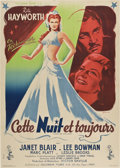 "Movie Posters:Musical, Tonight and Every Night (Columbia, 1945). French Grande (47"" X 63"")Style B.. ..."