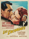 """Movie Posters:Hitchcock, Notorious (RKO, R-1958). French Grande (47"""" X 63"""").. ..."""