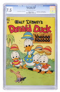 Golden Age (1938-1955):Cartoon Character, Four Color #238 Donald Duck (Dell, 1949) CGC VF- 7.5 Cream tooff-white pages....