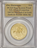"S.S.C.A. Relic Gold Medals, 1857/0 SSCA Relic Gold Medal ""1857/0 Baldwin & Co. Ten"" DeepCameo Proof PCGS...."