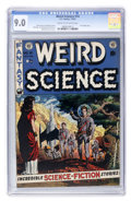 Golden Age (1938-1955):Science Fiction, Weird Science #14 (EC, 1952) CGC VF/NM 9.0 Cream to off-whitepages....