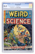 Golden Age (1938-1955):Science Fiction, Weird Science #9 (EC, 1951) CGC VF 8.0 Off-white pages....