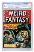 Golden Age (1938-1955):Science Fiction, Weird Fantasy #14 (#2) (EC, 1950) CGC FN+ 6.5 Cream to off-whitepages....