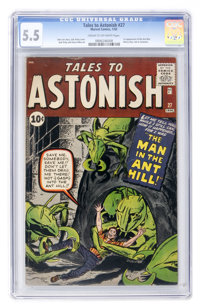 Tales to Astonish #27 (Marvel, 1962) CGC FN- 5.5 Cream to off-white pages