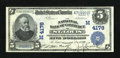 National Bank Notes:Missouri, Saint Louis, MO - $5 1902 Plain Back Fr. 601 The NB of Commerce Ch. # (M)4178. ...
