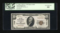 National Bank Notes:Iowa, Waverly, IA - $10 1929 Ty. 1 The First NB Ch. # 3105. ...