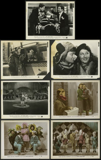 "My Lucky Star (20th Century Fox, 1938). Color-Glos Photos (3) and Photos (4) (8"" X 10""). Comedy. ... (Total: 7..."