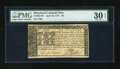Colonial Notes:Maryland, Maryland April 10, 1774 $6 PMG Very Fine 30 EPQ....