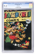 Golden Age (1938-1955):Funny Animal, Jamboree Comics #2 (Round, 1946) CGC NM- 9.2 Off-white pages....