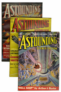 Astounding Stories/Astounding Science Fiction Group (Street & Smith, 1937-49) Condition: Average VF-.... (Total: 79...