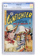 Golden Age (1938-1955):Western, Gunfighter #12 New Hampshire pedigree (EC, 1949) CGC VF/NM 9.0 Off-white to white pages....