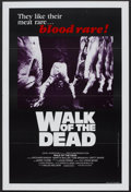 "Movie Posters:Horror, Walk of the Dead (Independent Artists, 1981). One Sheet (28"" X 42"")Flat-Folded. Horror.. ..."
