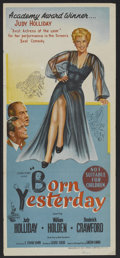 """Movie Posters:Comedy, Born Yesterday (Columbia, 1950). Australian Daybill (13"""" X 30""""). Comedy.. ..."""