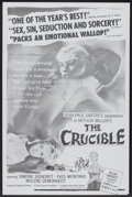 """Movie Posters:Drama, The Crucible (Union Films, 1958). One Sheet (27"""" X 41""""). Drama.. ..."""