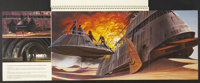 """Revenge of the Jedi (20th Century Fox, 1982). Promotional Book (Multiple Pages, 10.25"""" X 14""""). Science Fiction..."""