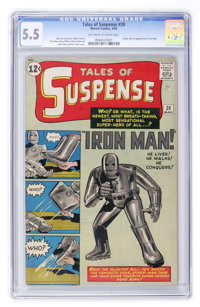 Tales of Suspense #39 (Marvel, 1963) CGC FN- 5.5 Off-white to white pages