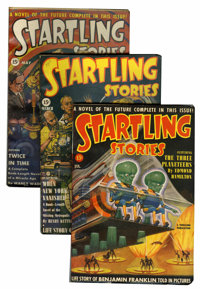 Startling Stories Group (Standard, 1940-49) Condition: Average FN/VF.... (Total: 33 Items)