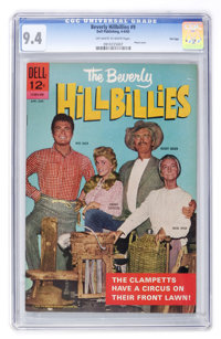 Beverly Hillbillies #9 File Copy (Dell, 1965) CGC NM 9.4 Off-white to white pages