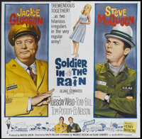 """Soldier in the Rain (Allied Artists, 1964). Six Sheet (81"""" X 81""""). Comedy"""