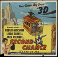 "Movie Posters:Thriller, Second Chance (RKO, 1953). Six Sheet (81"" X 81"") 3-D style. Thriller.. ..."