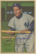 Autographs:Sports Cards, 1952 Bowman #52 Phil Rizzuto Signed Baseball Card. ...