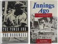 Autographs:Others, Negro League Stars Multi-Signed Books Lot Of 2....