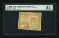 Colonial Notes:Pennsylvania, Pennsylvania October 25, 1775 10s PMG About Uncirculated 53....