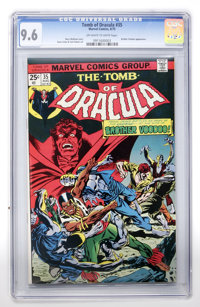 Tomb of Dracula #35 (Marvel, 1975) CGC NM+ 9.6 Off-white to white pages