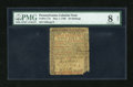 Colonial Notes:Pennsylvania, Pennsylvania May 1, 1760 50s PMG Very Good 8 Net....