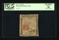 Colonial Notes:Pennsylvania, Pennsylvania April 3, 1772 40s PCGS Apparent About New 50....