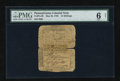 Colonial Notes:Pennsylvania, Pennsylvania May 20, 1758 15s PMG Good 6 Net....