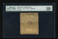 Colonial Notes:Delaware, Delaware June 1, 1759 15s PMG Very Good 10 Net....
