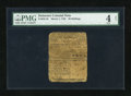Colonial Notes:Delaware, Delaware March 1, 1758 20s PMG Good 4 Net....
