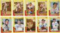 Autographs:Sports Cards, Baseball Stars Signed Cards Lot of 149....