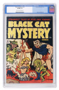 Golden Age (1938-1955):Horror, Black Cat Mystery #32 (Harvey, 1951) CGC VF/NM 9.0 Light tan tooff-white pages....