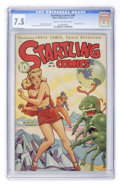 Golden Age (1938-1955):Science Fiction, Startling Comics #48 (Better Publications, 1947) CGC VF- 7.5 Creamto off-white pages....